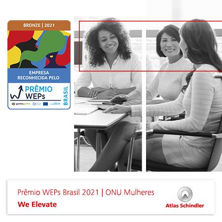 Atlas Schindler é reconhecida pela ONU Mulheres no Prêmio WEPs