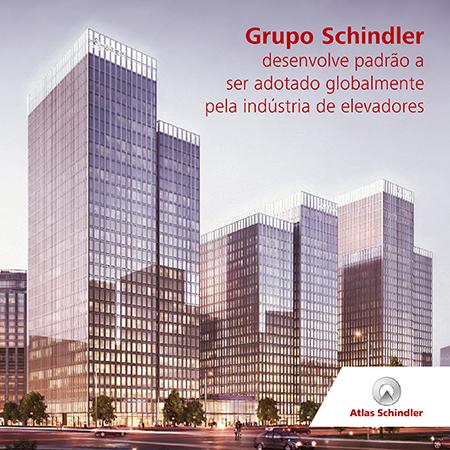 Grupo Schindler desenvolve padrão a ser adotado globalmente pela indústria de elevadores